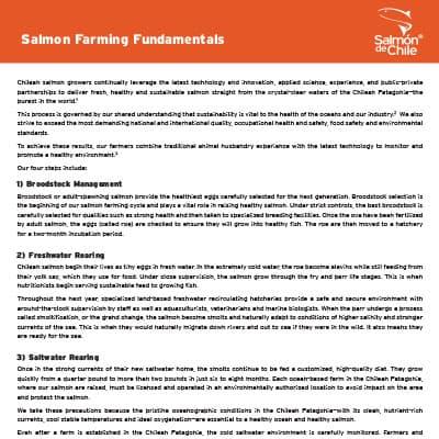 Salmon Farming Fundamentals