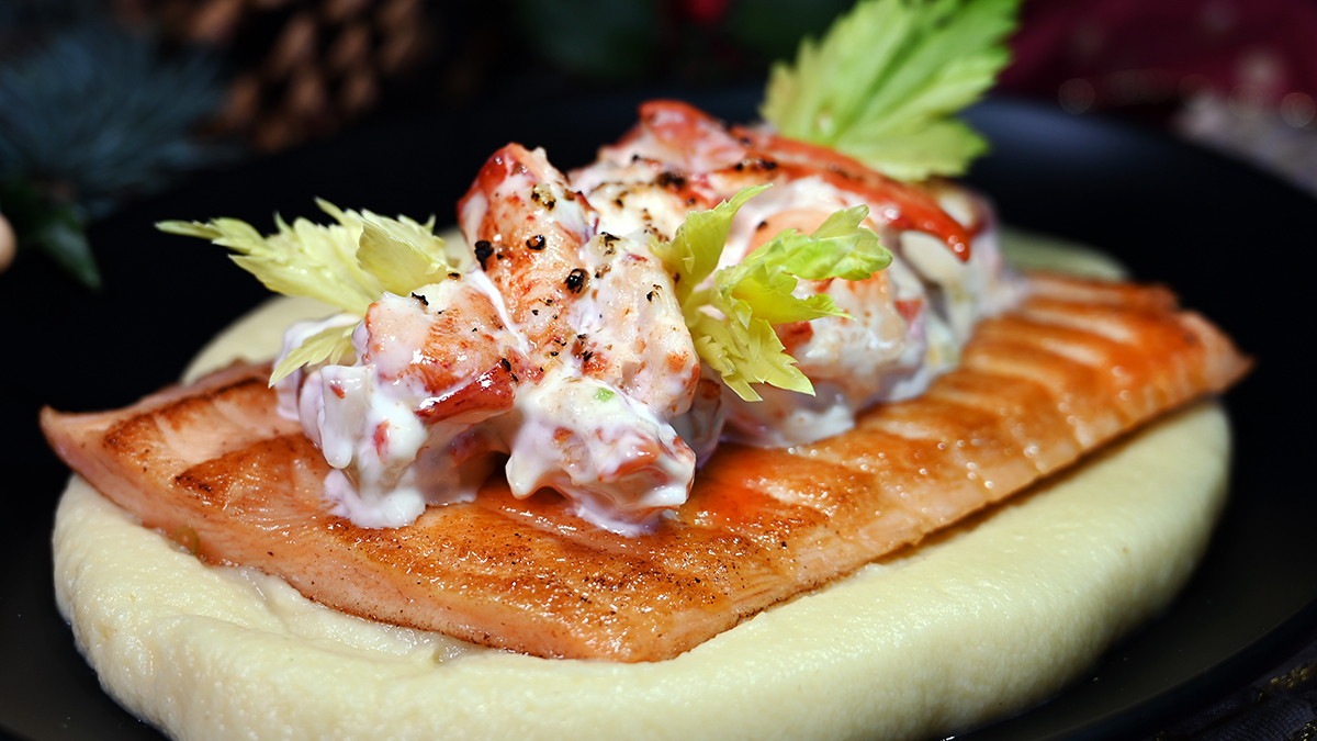 Chilean Salmon Lobster Gratinee 4x4