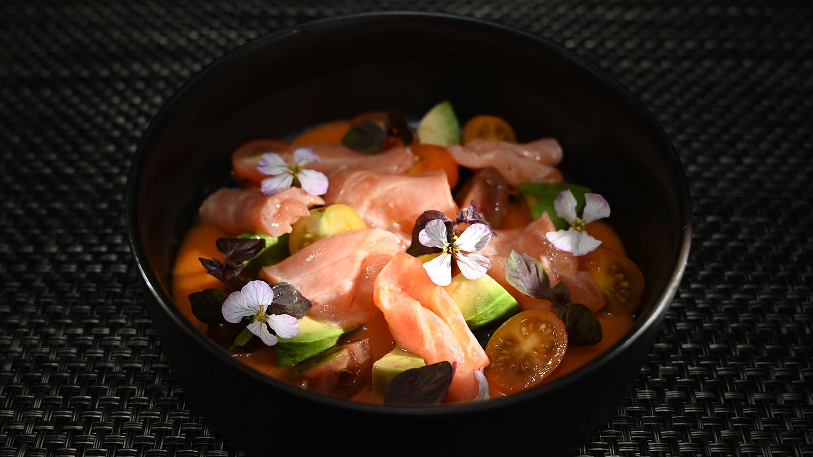 Salmon Gazpacho 16x9 LowRes